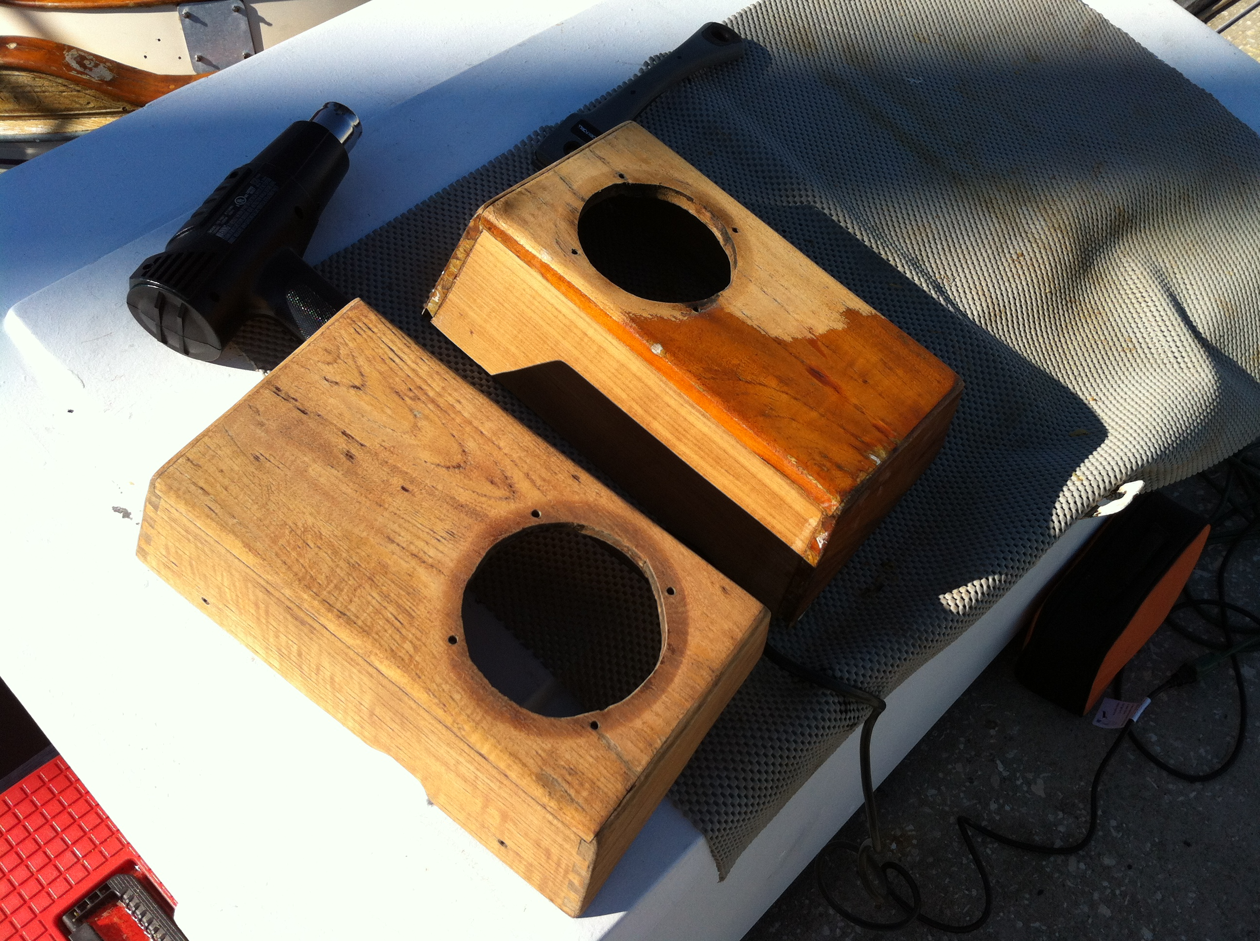 Dorade boxes and cowl vents sailing with serenity